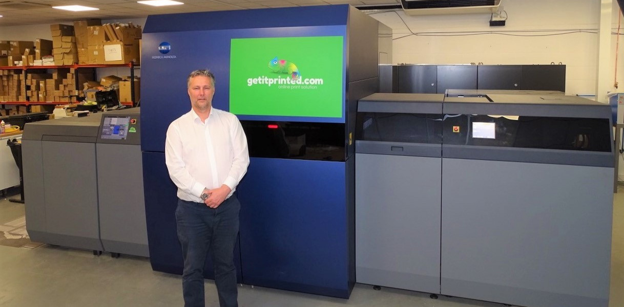 Colourfast Financial launches getitprinted.com with UK's first Konica Minolta AccurioJet KM-1