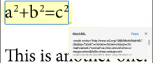 MadeToTag supports mathematical formulas in cooperation with MathTools developer movemen