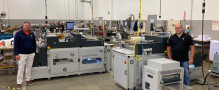 Linemark Printing, Inc. installs second Imaging Solutions fastBook Professional 1000 for layFlat book production.