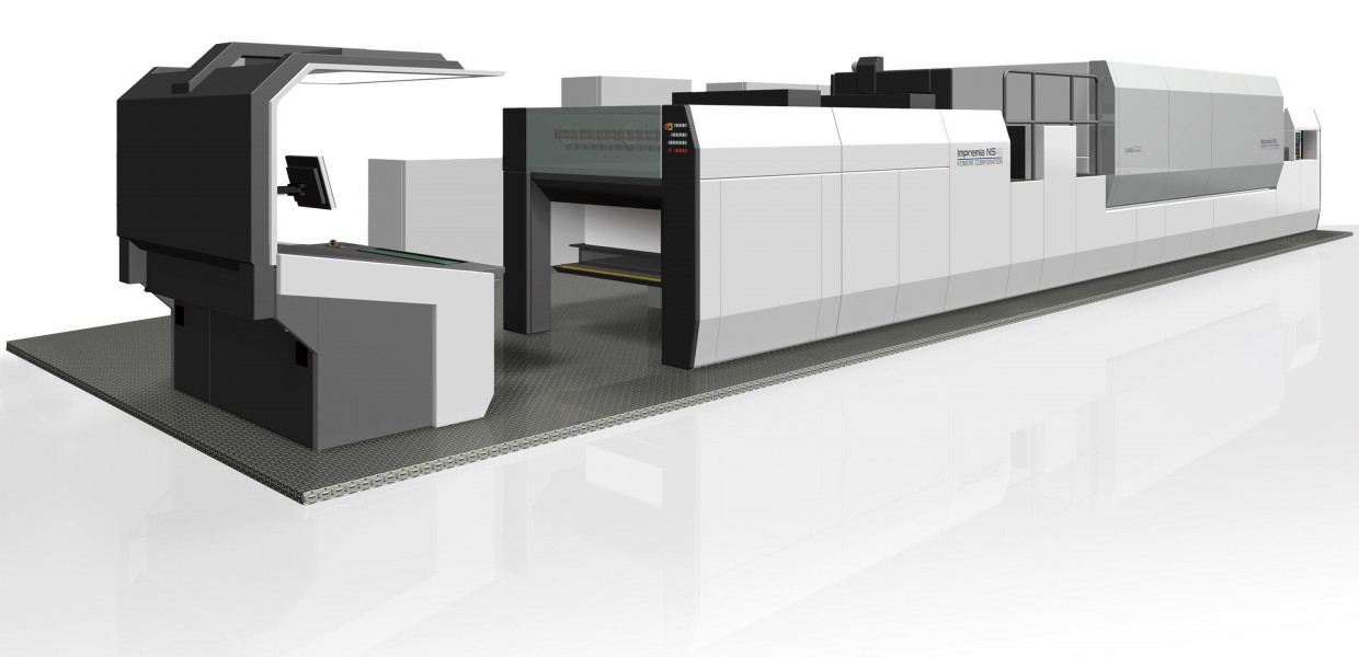 Komori Corporation Announces the World's First Beta Site for the Impremia NS40